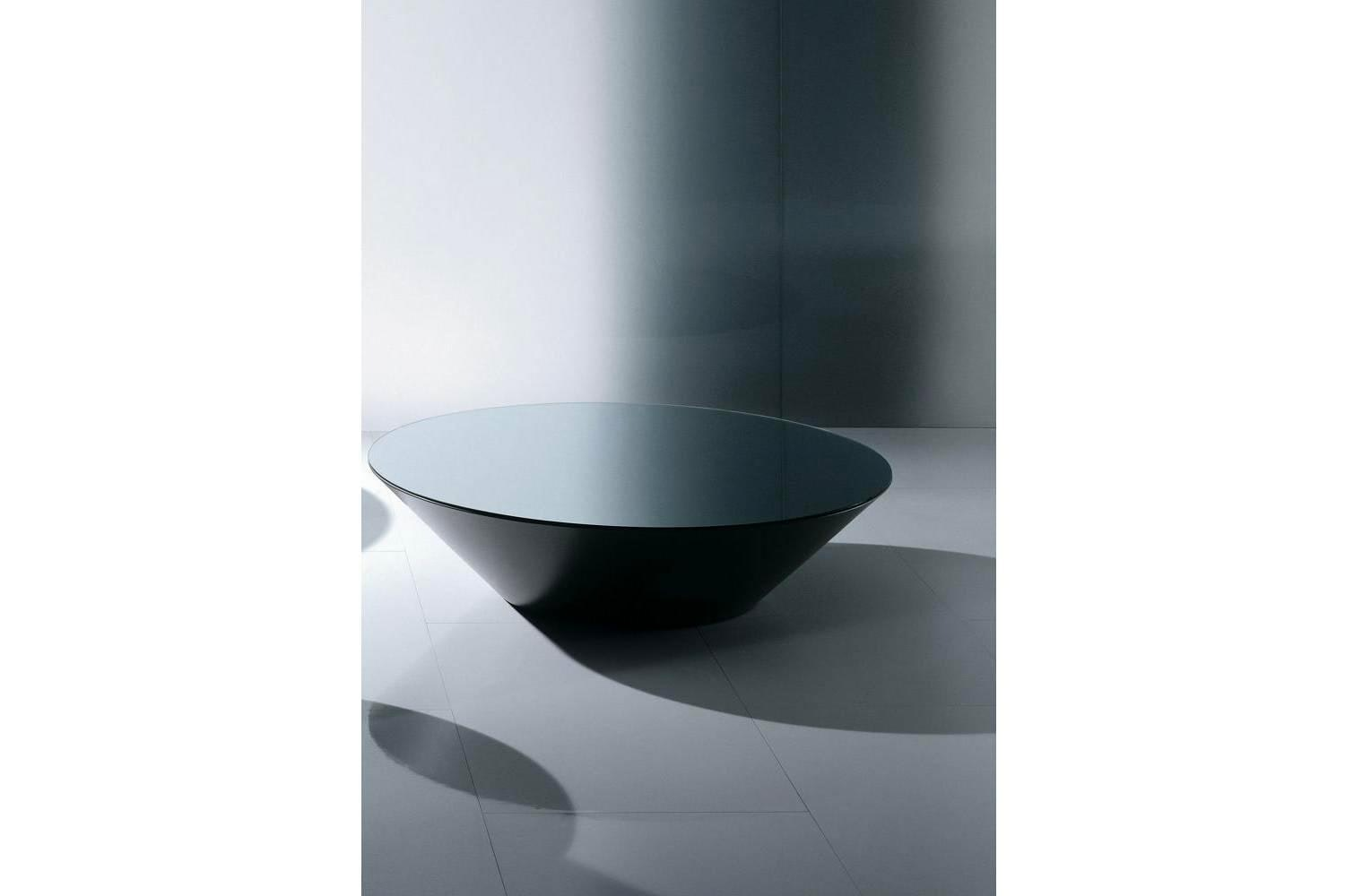 Pond in Black Glass Coffee Table by Marco Acerbis for Acerbis