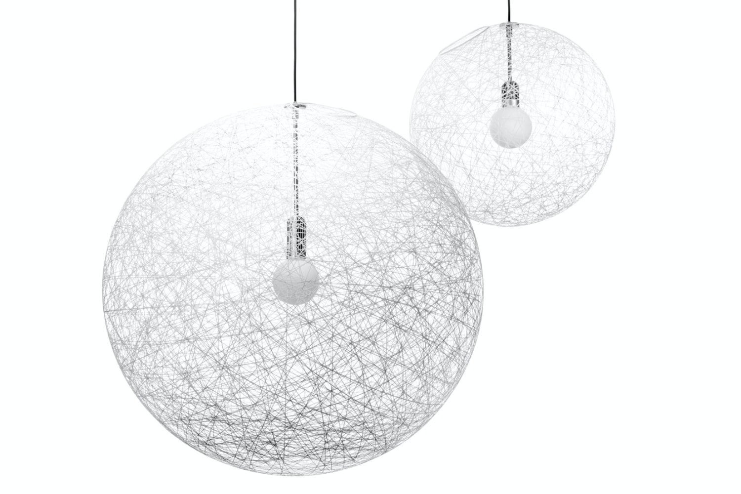 Random Light LED Medium Suspension Lamp by Bertjan Pot for Moooi