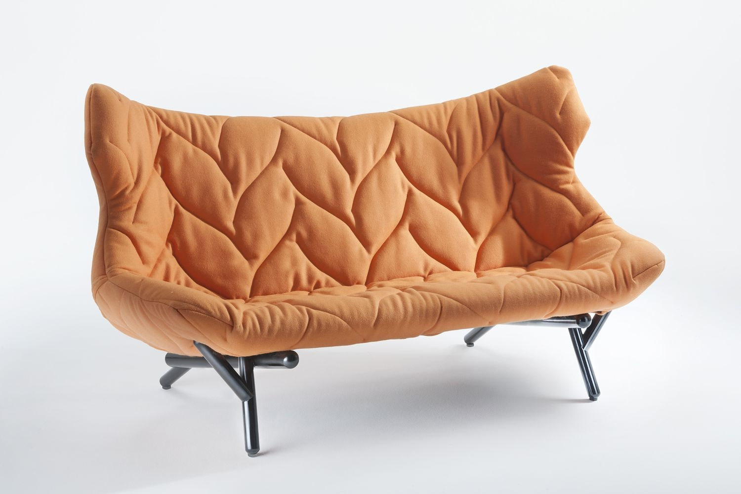 Foliage Sofa with Black Legs by Patricia Urquiola for Kartell