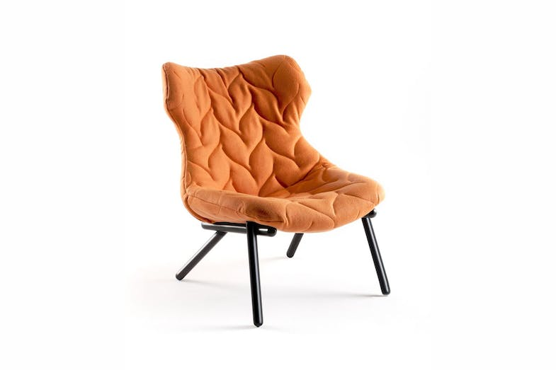 Foliage Armchair with Black Legs by Patricia Urquiola for Kartell