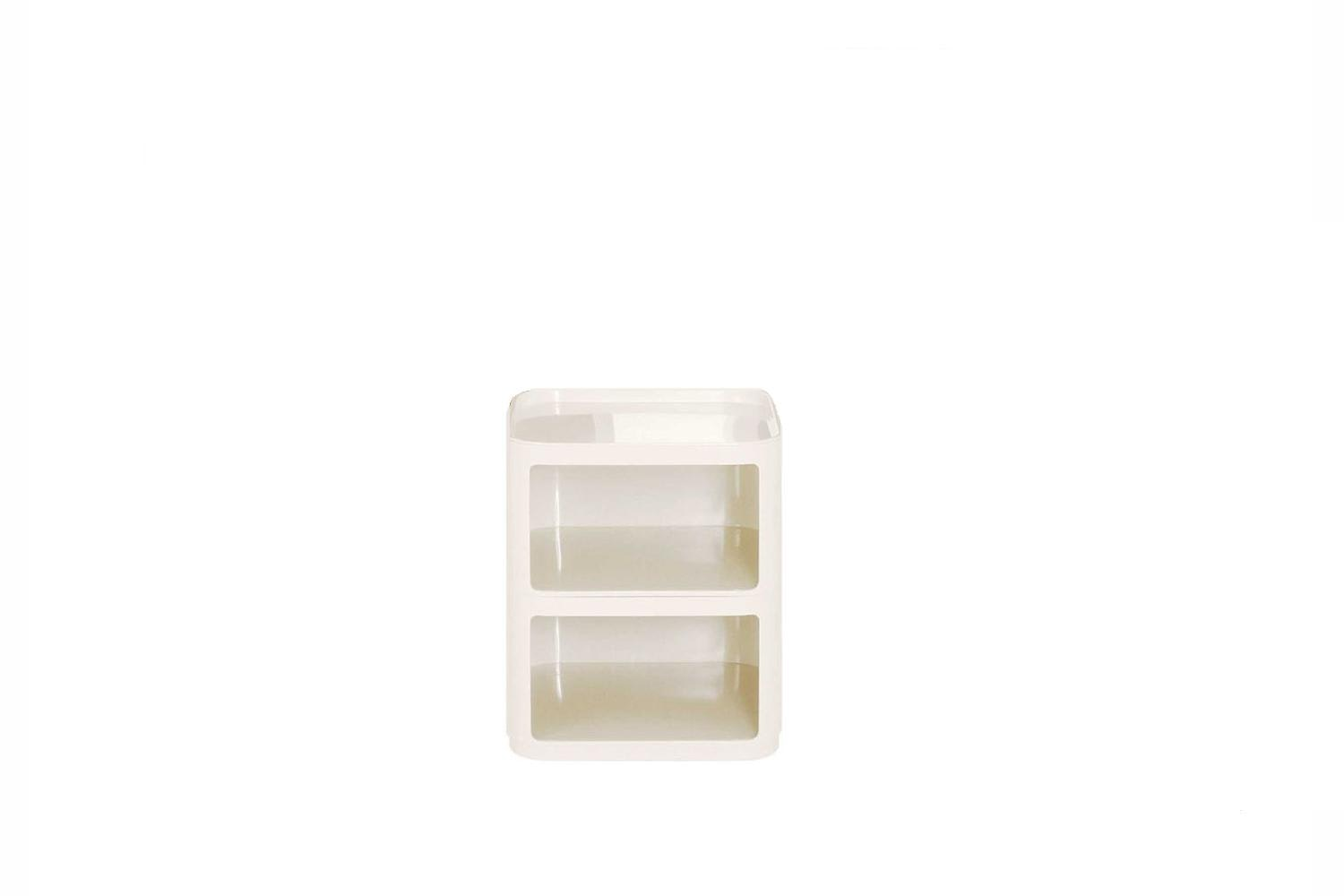 Componibili Square 2 Low Elements by Anna Castelli Ferrieri for Kartell