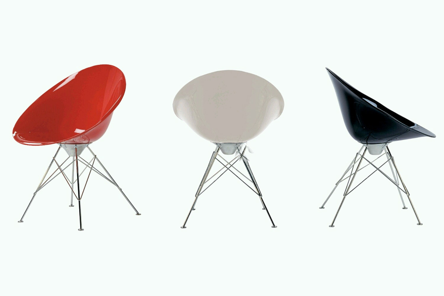 Ero|S| Chair on Feet by Philippe Starck for Kartell