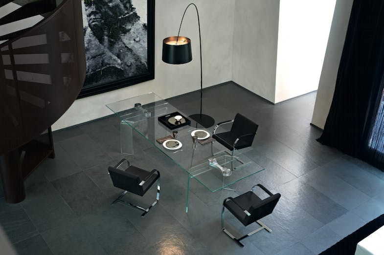 Ray Plus Extension Table by Bartoli Design for Fiam Italia