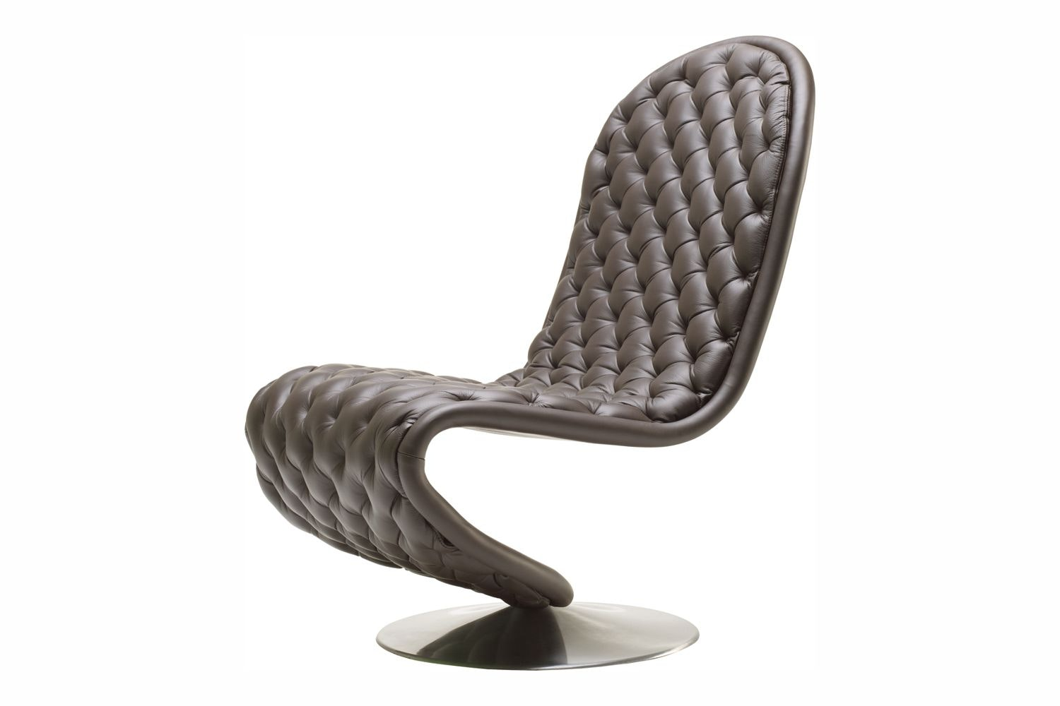 System 1-2-3 Lounge Chair Deluxe by Verner Panton for Verpan