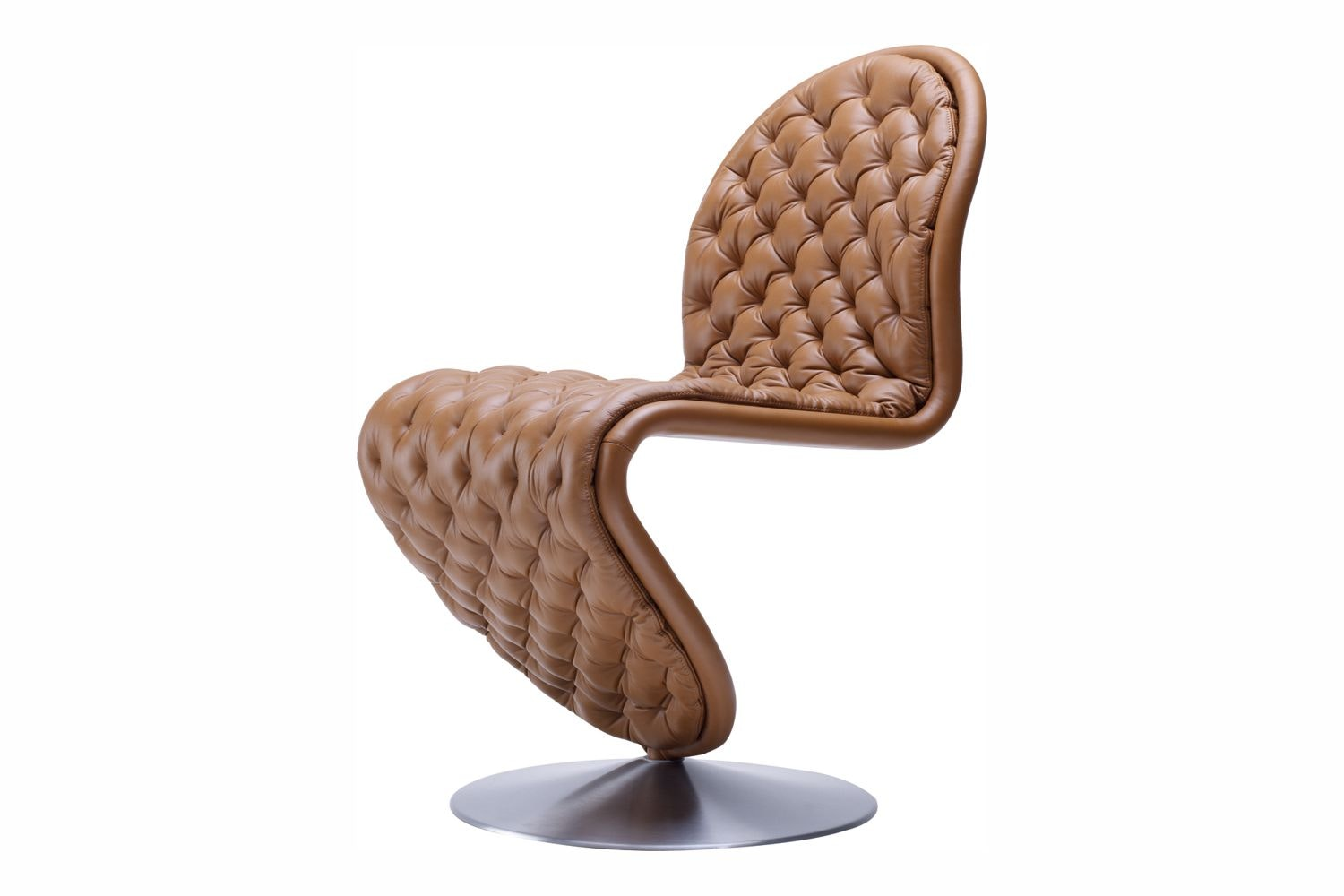 System 1-2-3 Dining Chair Deluxe by Verner Panton for Verpan