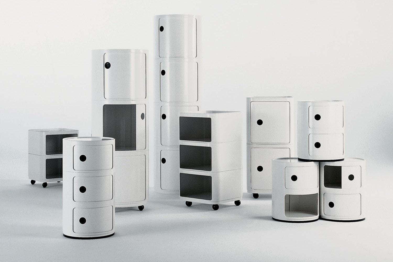 Componibili Modular Elements by Anna Castelli Ferrieri for Kartell