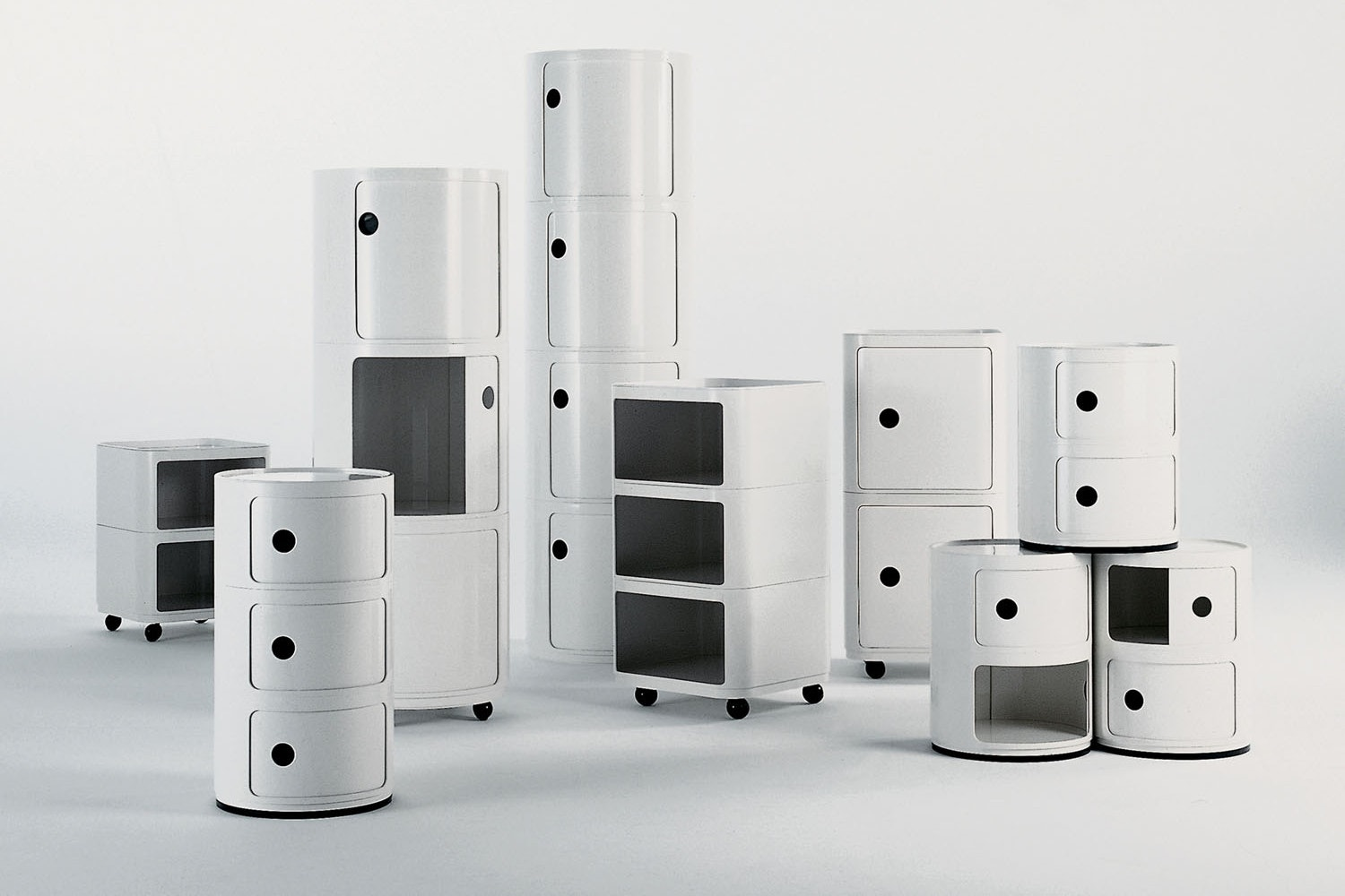 Componibili Modular Elements by Anna Castelli Ferrieri for Kartell