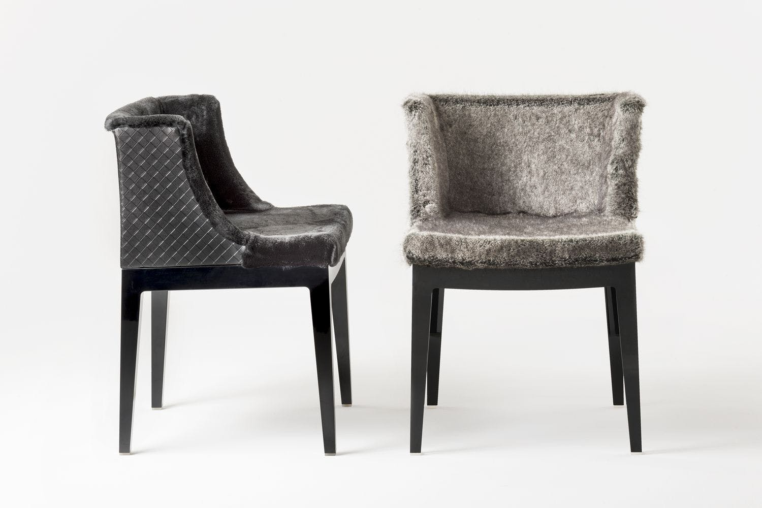 mademoiselle kravitz chair by philippe starck for kartell space