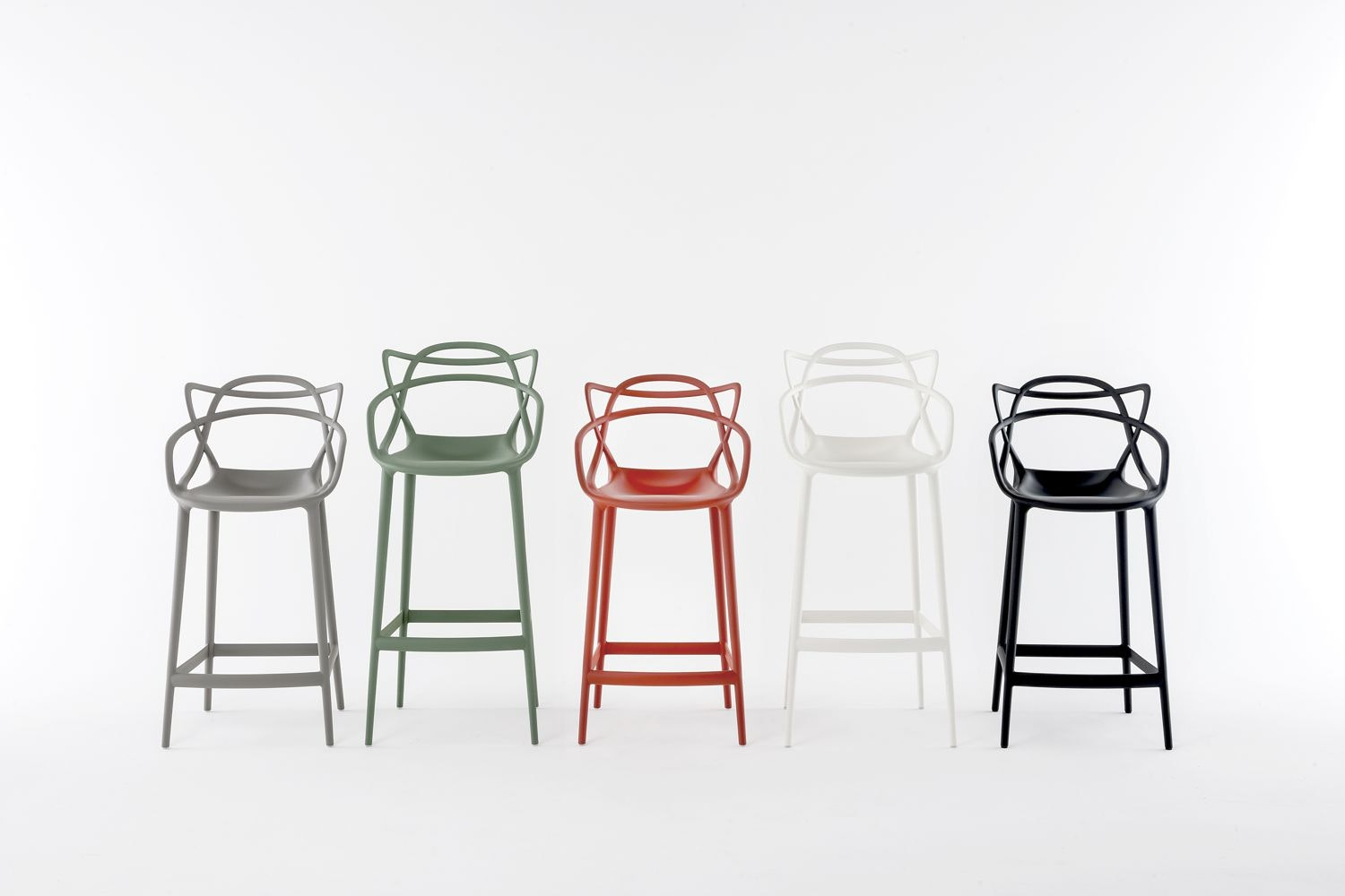 Masters Low Stool by Philippe Starck with Eugeni Quitllet for Kartell