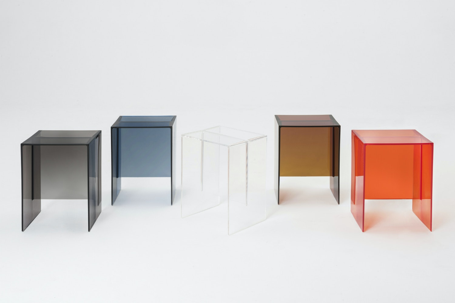 Max-Beam Side Table/Stool by Ludovica & Roberto Palomba for Kartell