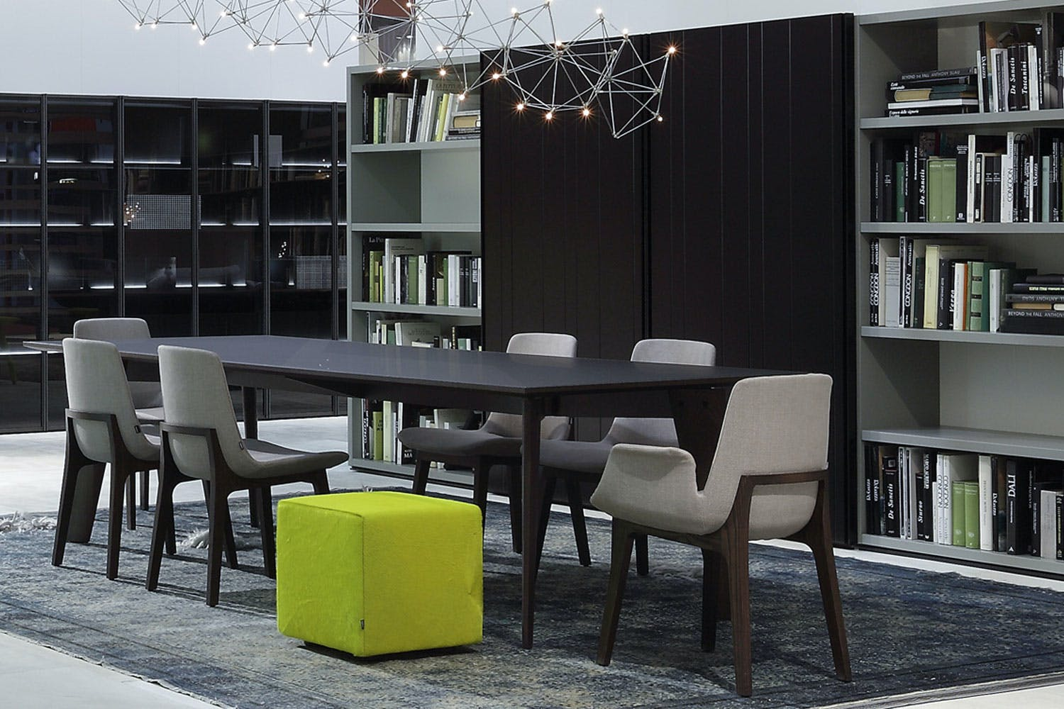 Howard by jean marie massaud for poliform space furniture for Poliform soggiorni