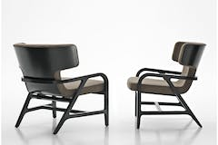 Fulgens Armchair by Antonio Citterio for Maxalto