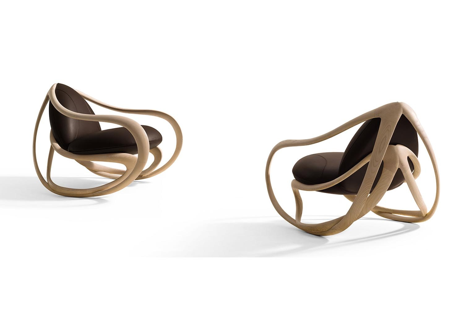 Move Rocking Armchair by Rossella Pugliatti for Giorgetti