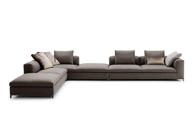 Michel Club Sofa by Antonio Citterio for B&B Italia