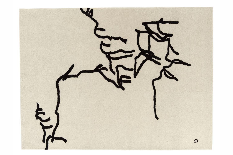 Dibujo Tinta 1957 by Eduardo Chillida for Nani Marquina