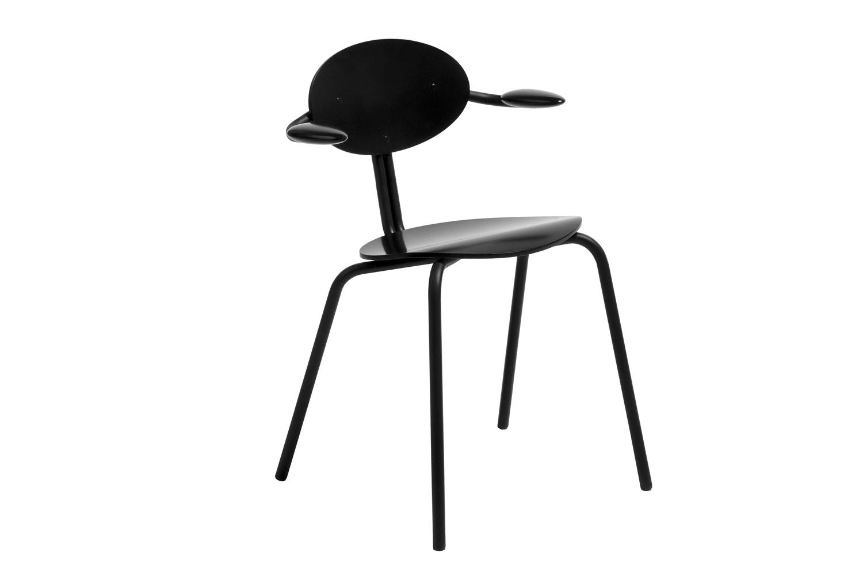 Lukki 5AR Chair by Ilmari Tapiovaara for Artek