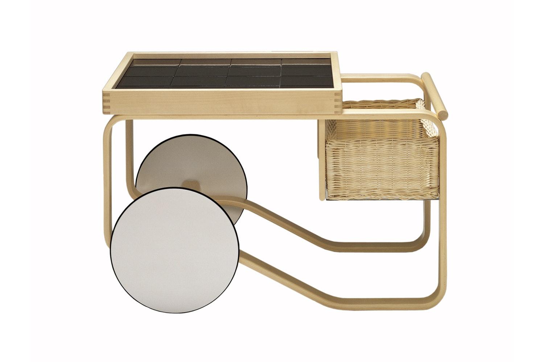 900 Tea Trolley by Alvar Aalto for Artek