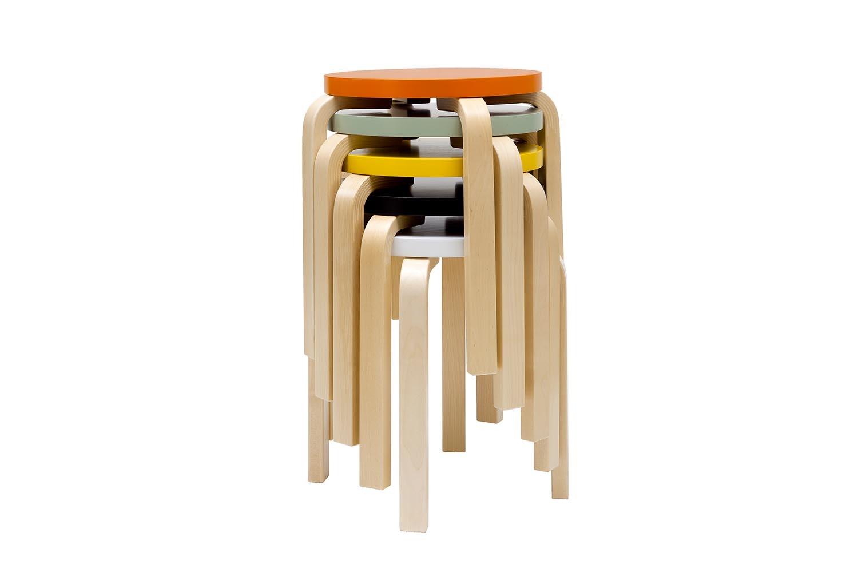 E60 Stool by Alvar Aalto for Artek