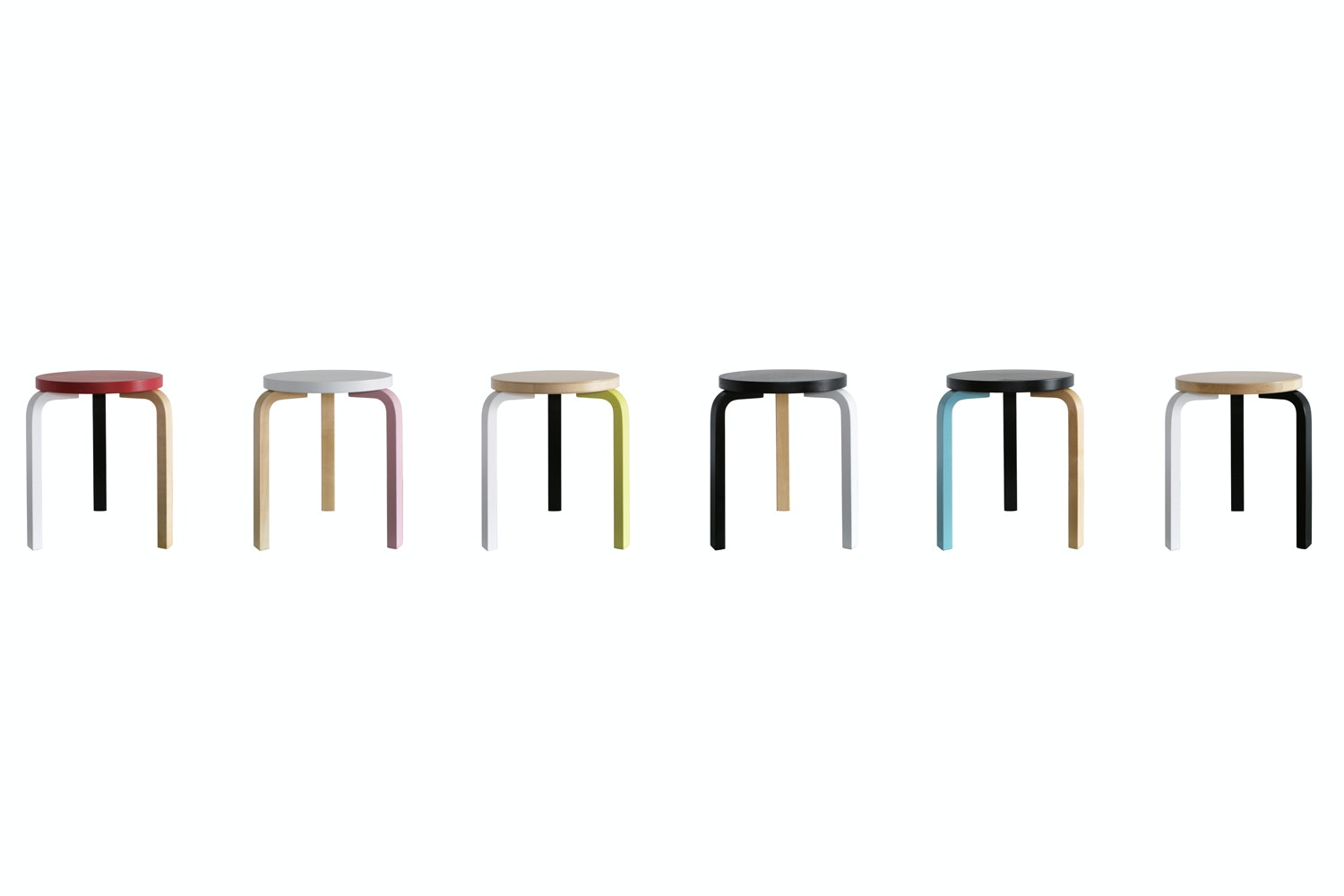 60 Stool Special Edition by Mike Meire for Artek