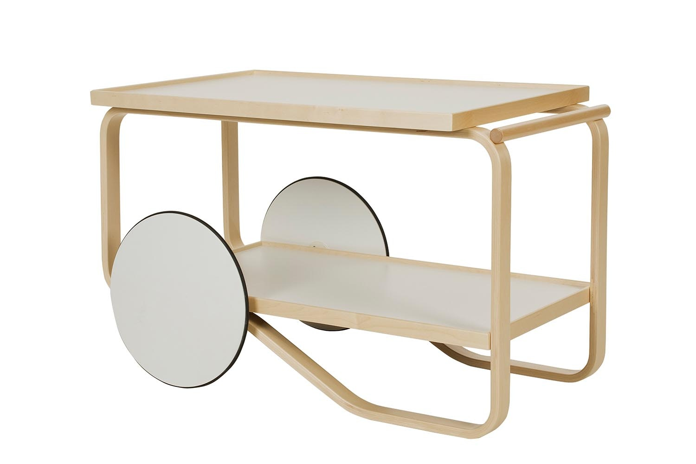 901 Tea Trolley by Alvar Aalto for Artek
