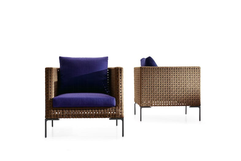 Charles Outdoor Armchair by Antonio Citterio for B&B Italia