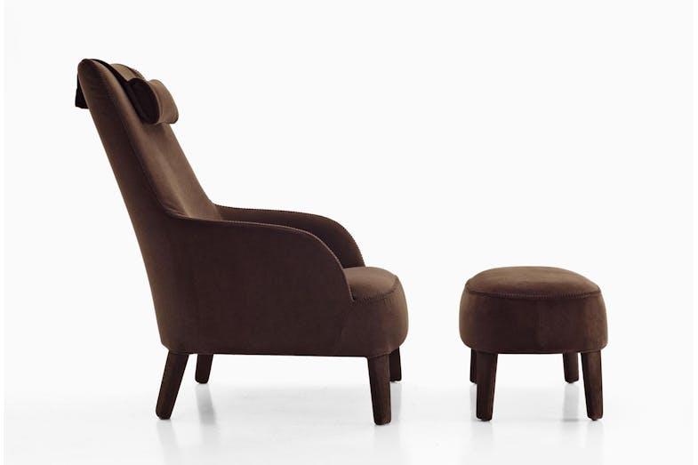 Febo armchair by antonio citterio for maxalto space for B b maxalto