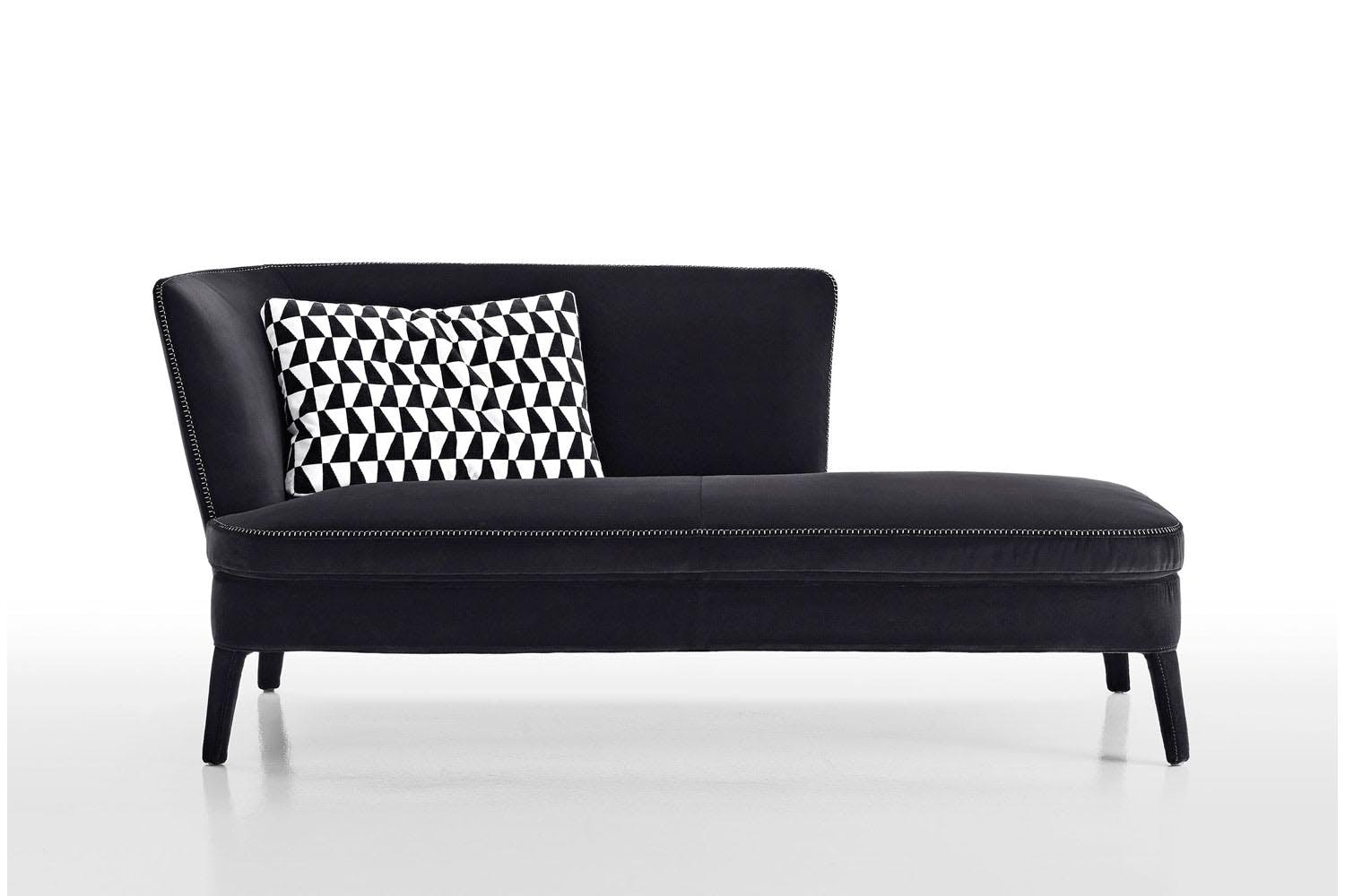 febo 39 15 chaise longue by antonio citterio for maxalto. Black Bedroom Furniture Sets. Home Design Ideas
