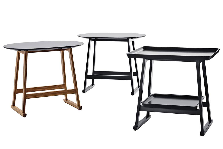 Recipio Side Table by Antonio Citterio for Maxalto