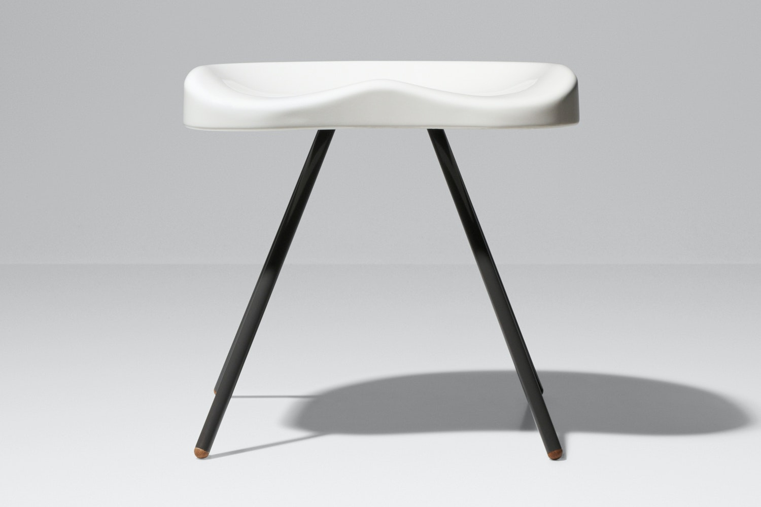 Tabouret No. 307 Stool by Jean Prouve for Vitra