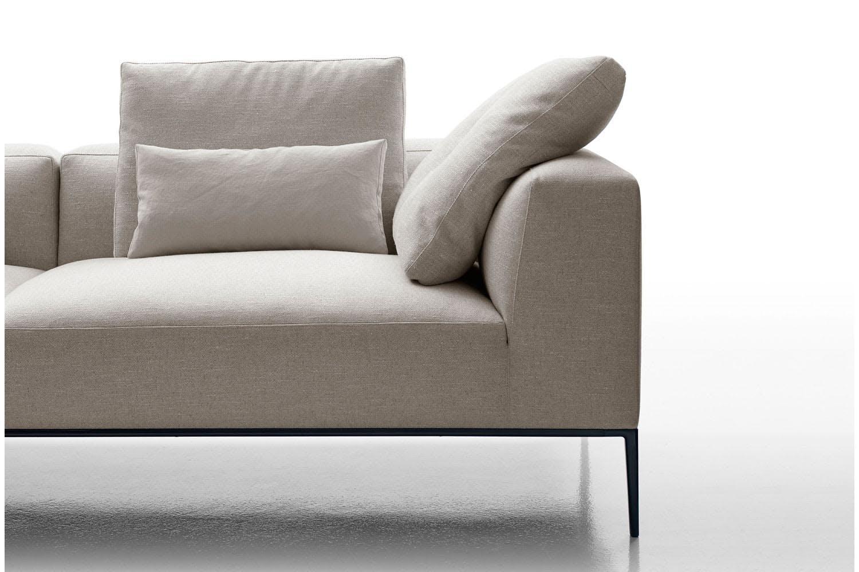 michel effe sofa by antonio citterio for b b italia space furniture. Black Bedroom Furniture Sets. Home Design Ideas