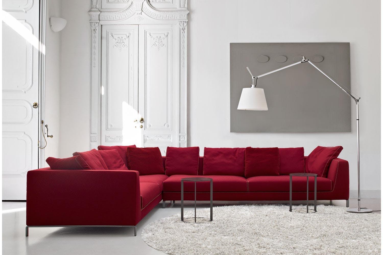 Ray sofa by antonio citterio for b b italia space furniture for B b furniture