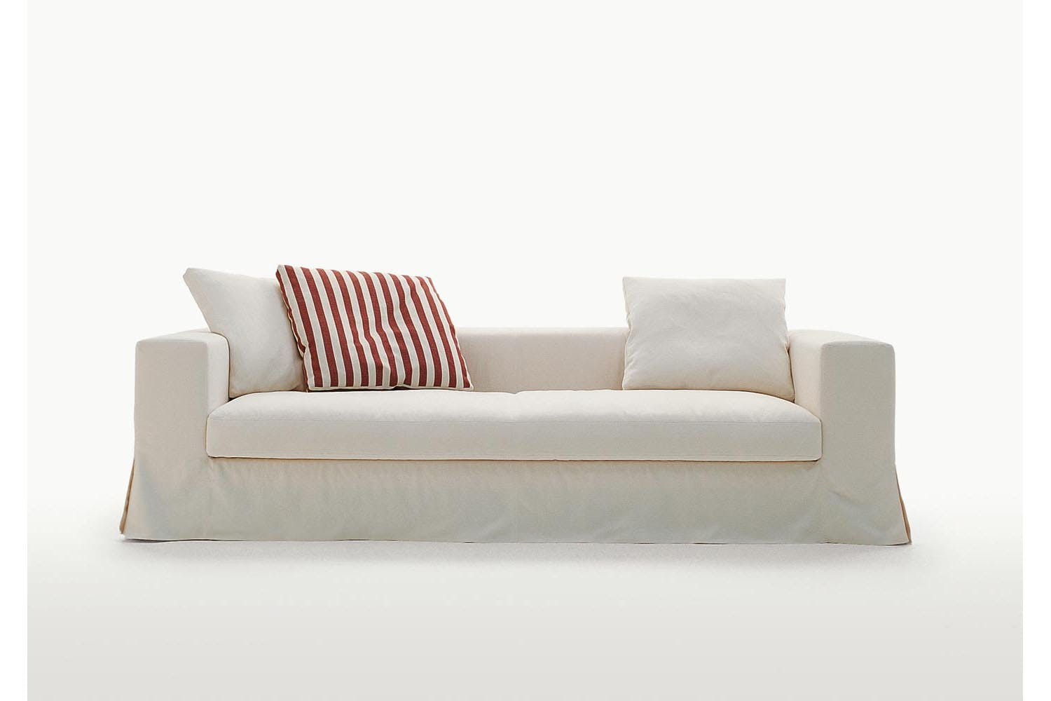 Simplex Sofa With Slip Cover By Antonio Citterio For