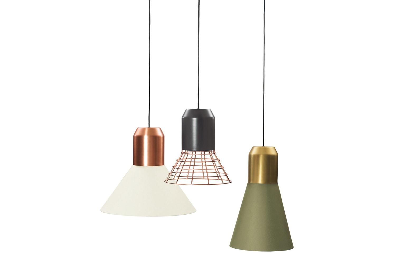 Bell Light Suspension Lamp by Sebastian Herkner for ClassiCon