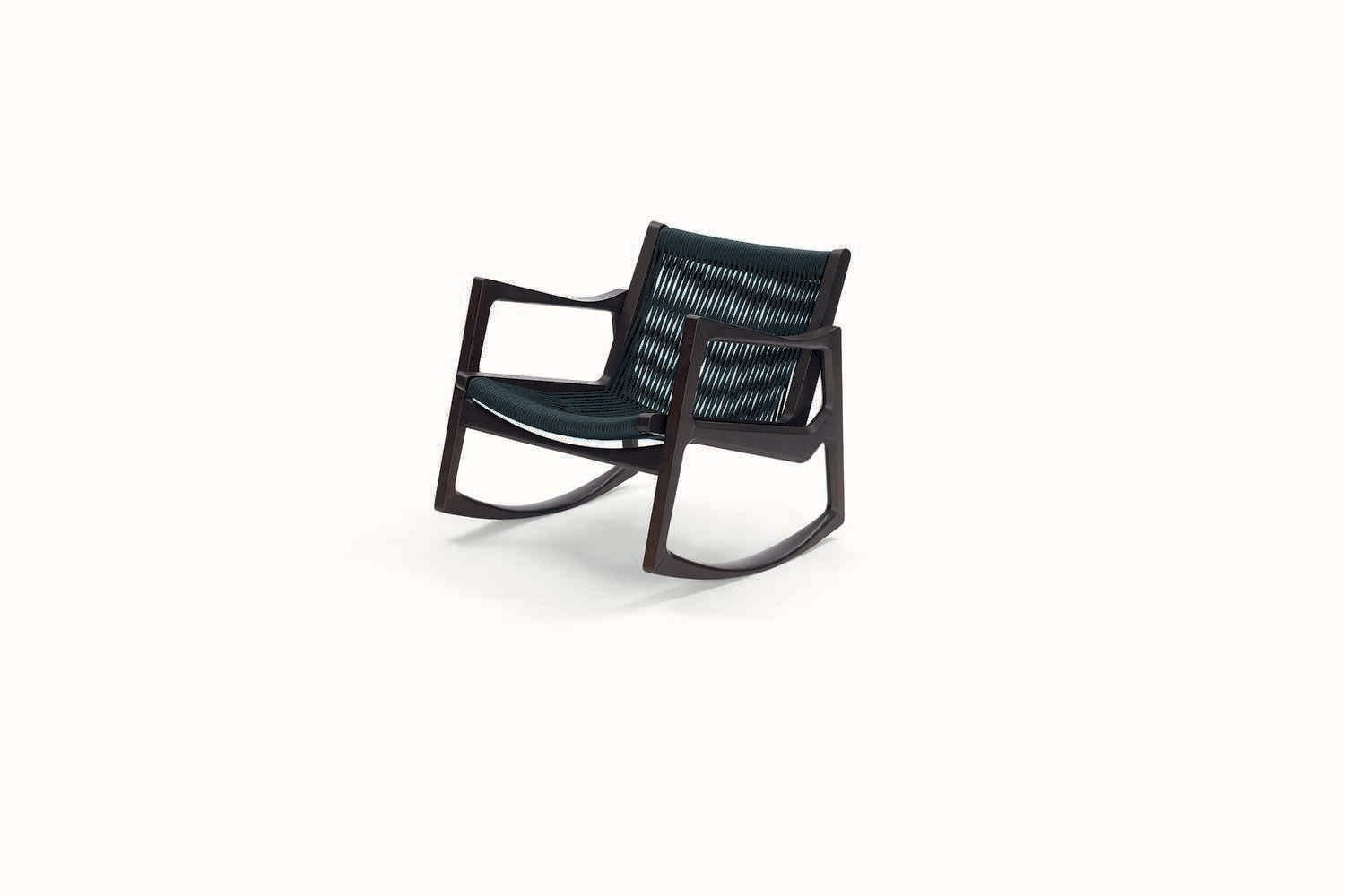 Euvira Rocking Chair by Jader Almeida for ClassiCon