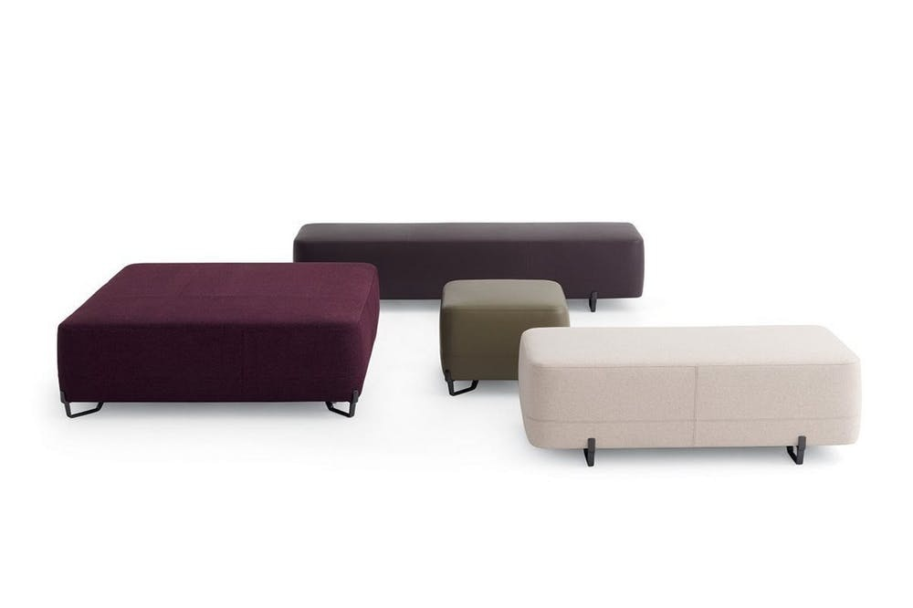 New York Ottoman by J. M. Massaud for Poliform