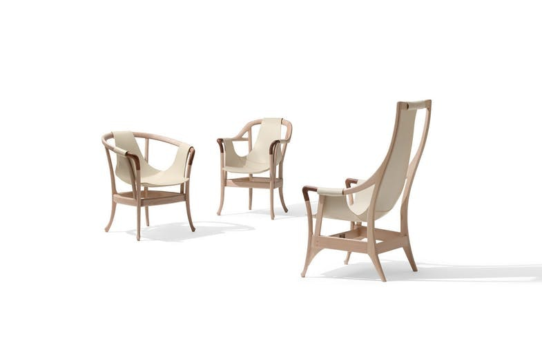 Progetti Pure Armchair by Umberto Asnago for Giorgetti