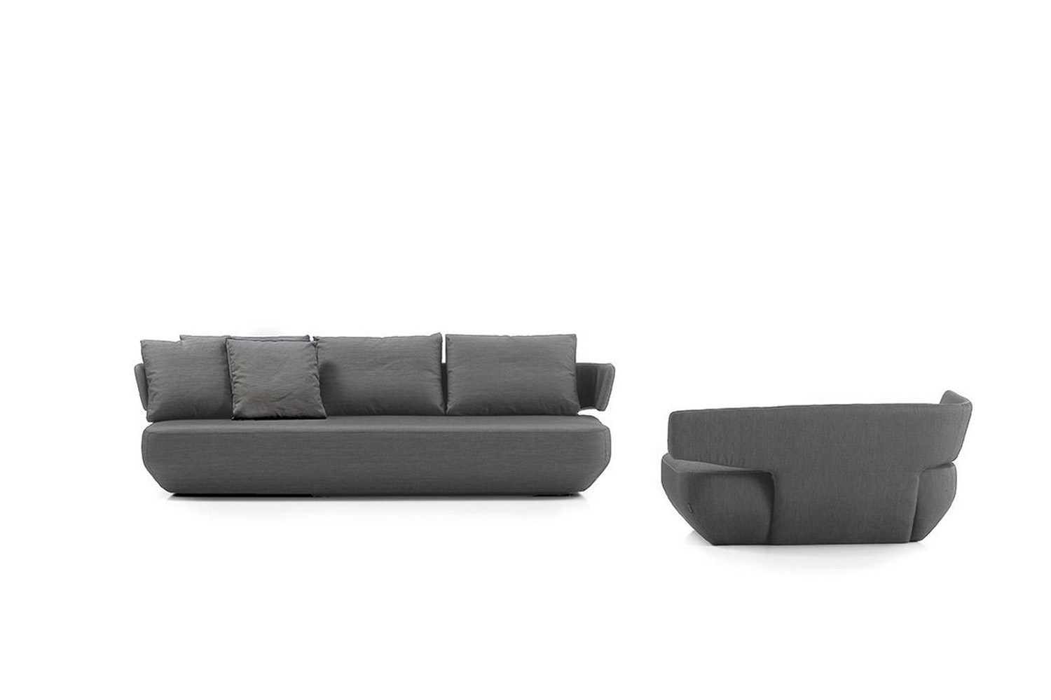 Levitt sofa by Ludovica+Roberto Palomba for Viccarbe