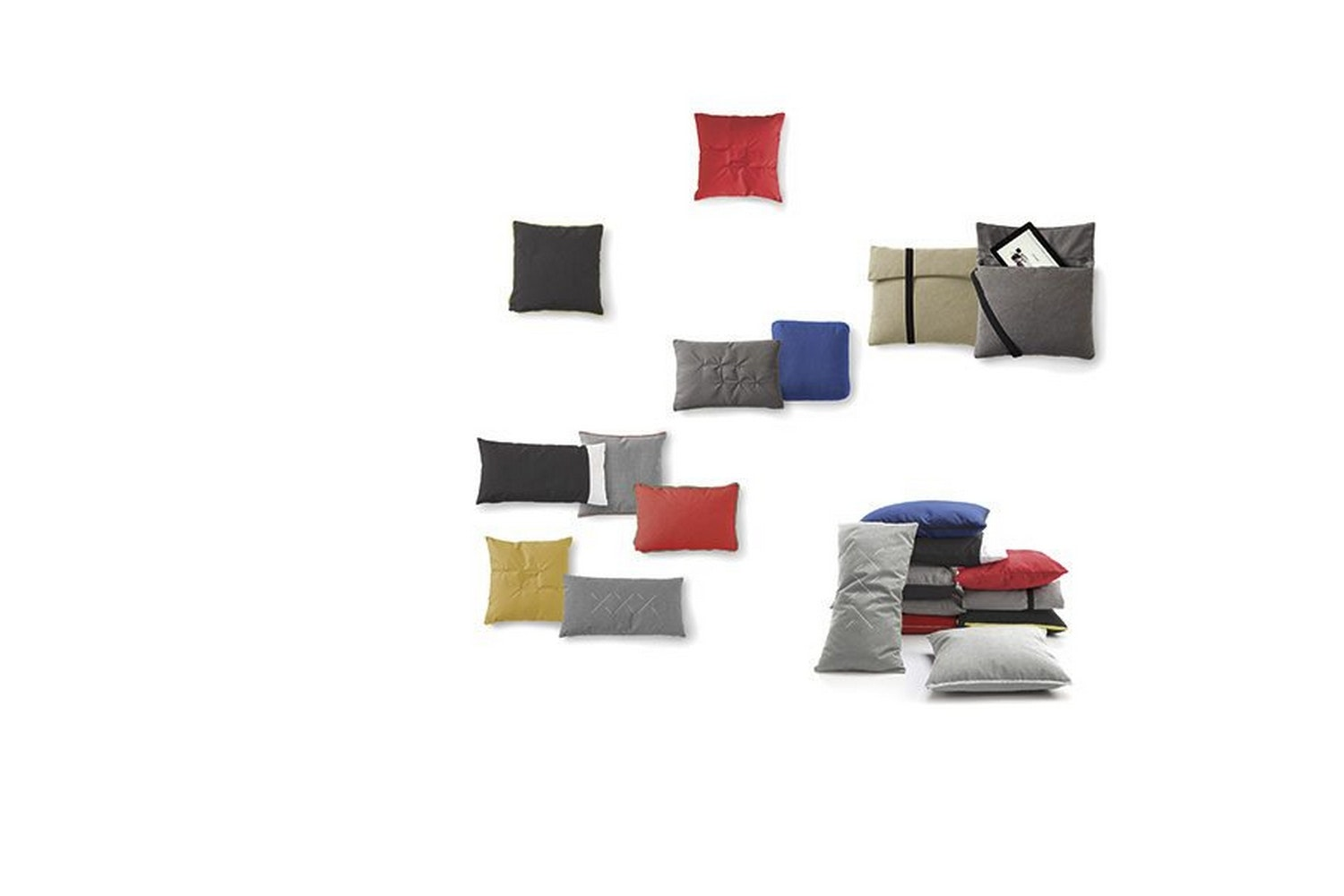 Pillows by Odosdesign for Viccarbe