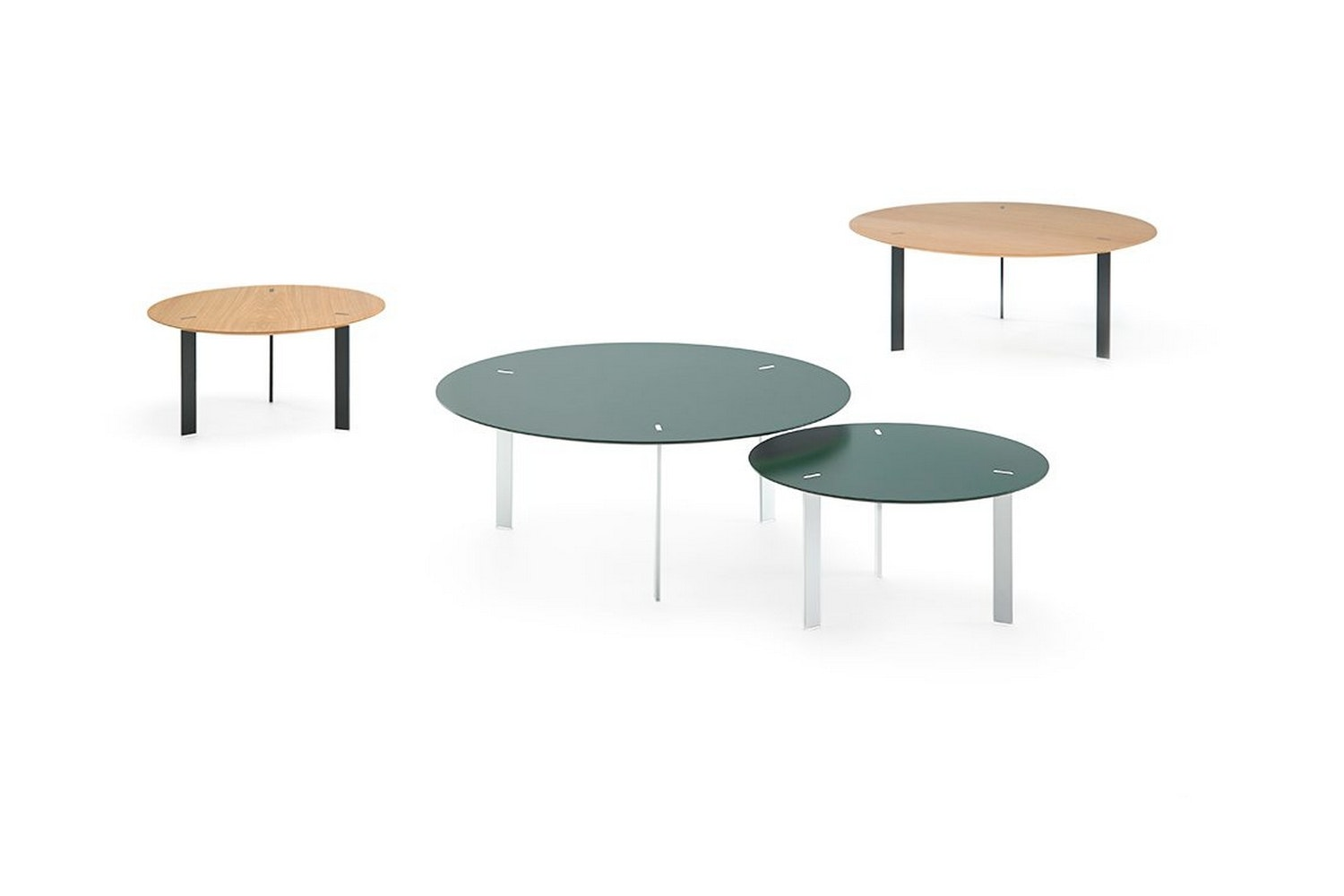 Ryutaro Table by Victor Carrasco for Viccarbe