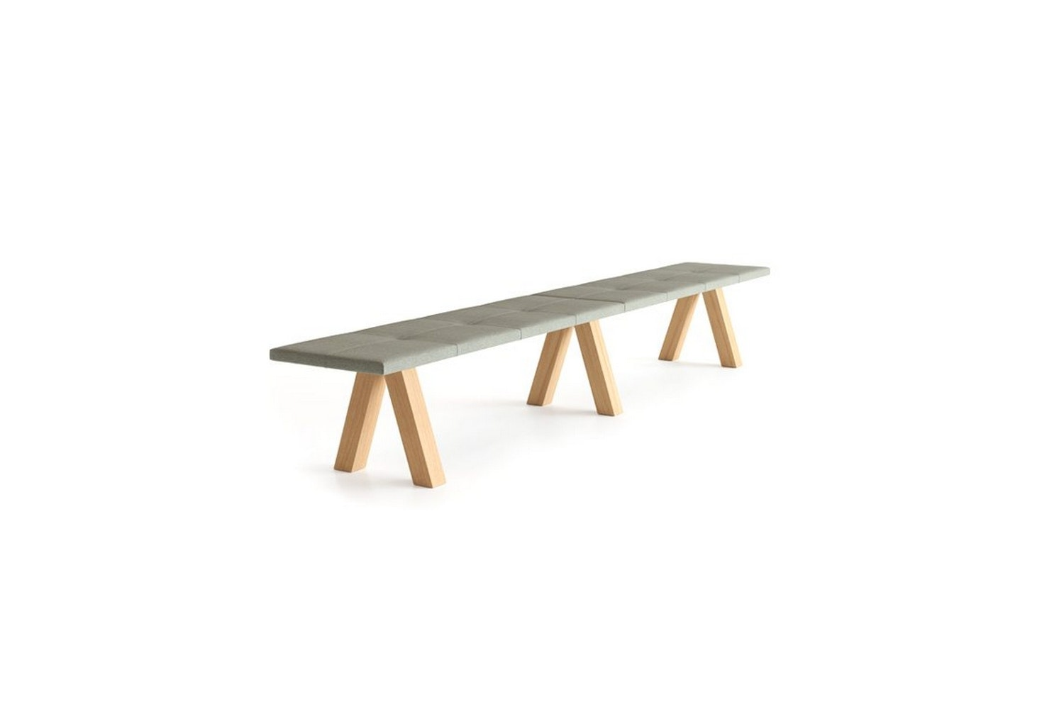 Trestle Bench by John Pawson for Viccarbe