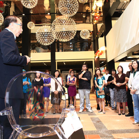 Singapore Space Furniture Unveils World Exclusive Iconic Kartell Louis Gho