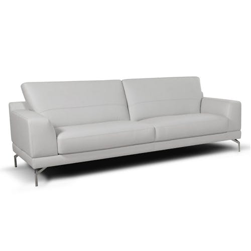 Best Leather Sofas In Singapore: Italian Leather Sofa Singapore Fabric Or Leather Sofa