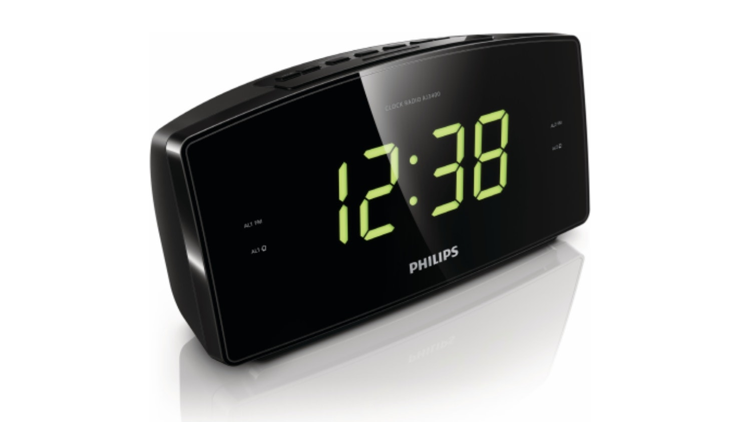 Philips Aj3400 Clock Radio Black Harvey Norman Singapore