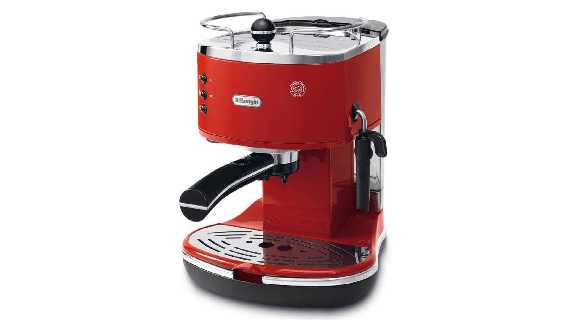 delonghi icona pump espresso machine red harvey norman singapore. Black Bedroom Furniture Sets. Home Design Ideas