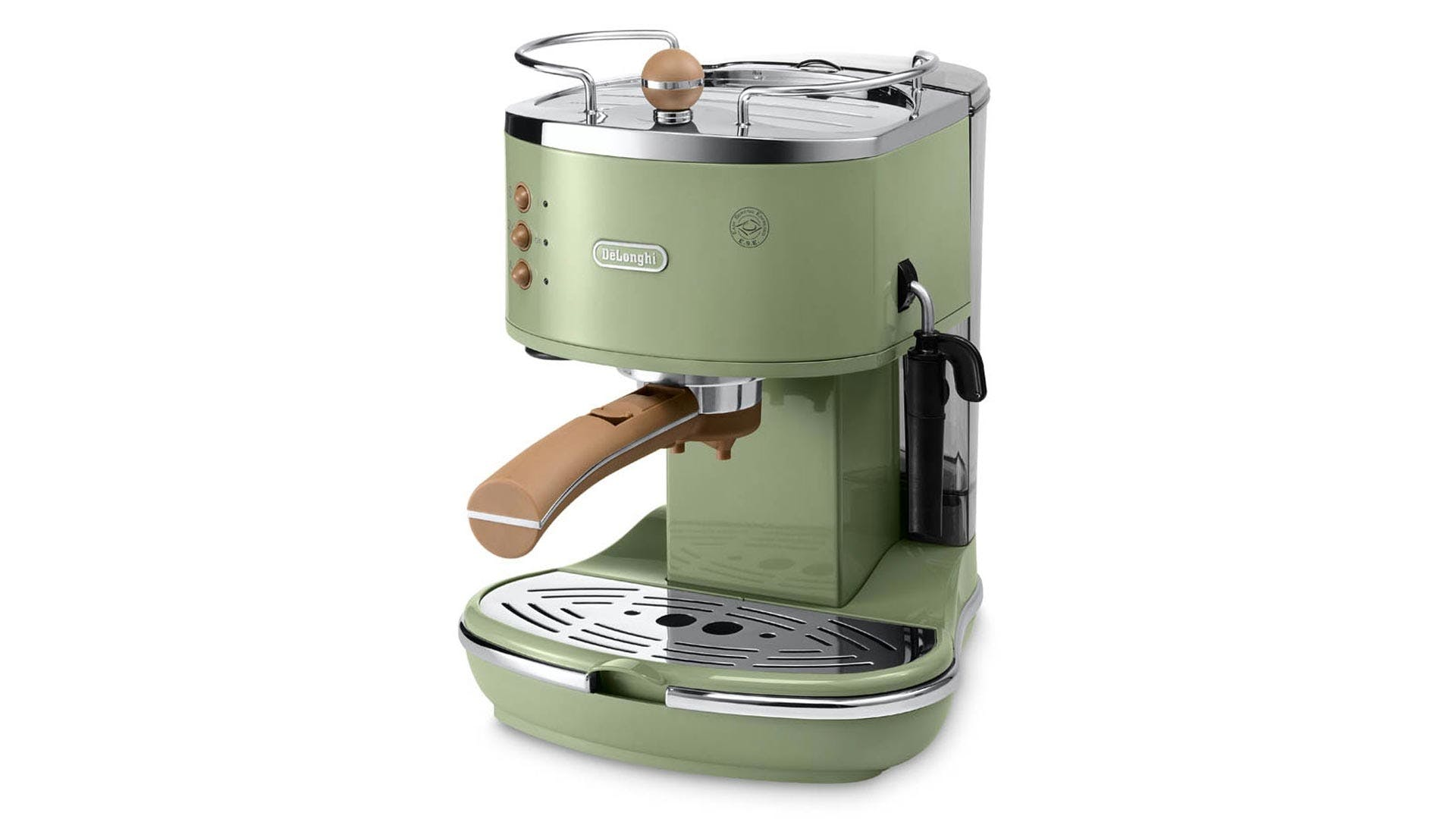 Delonghi Icona Vintage Pump Espresso Machine Green Harvey Norman