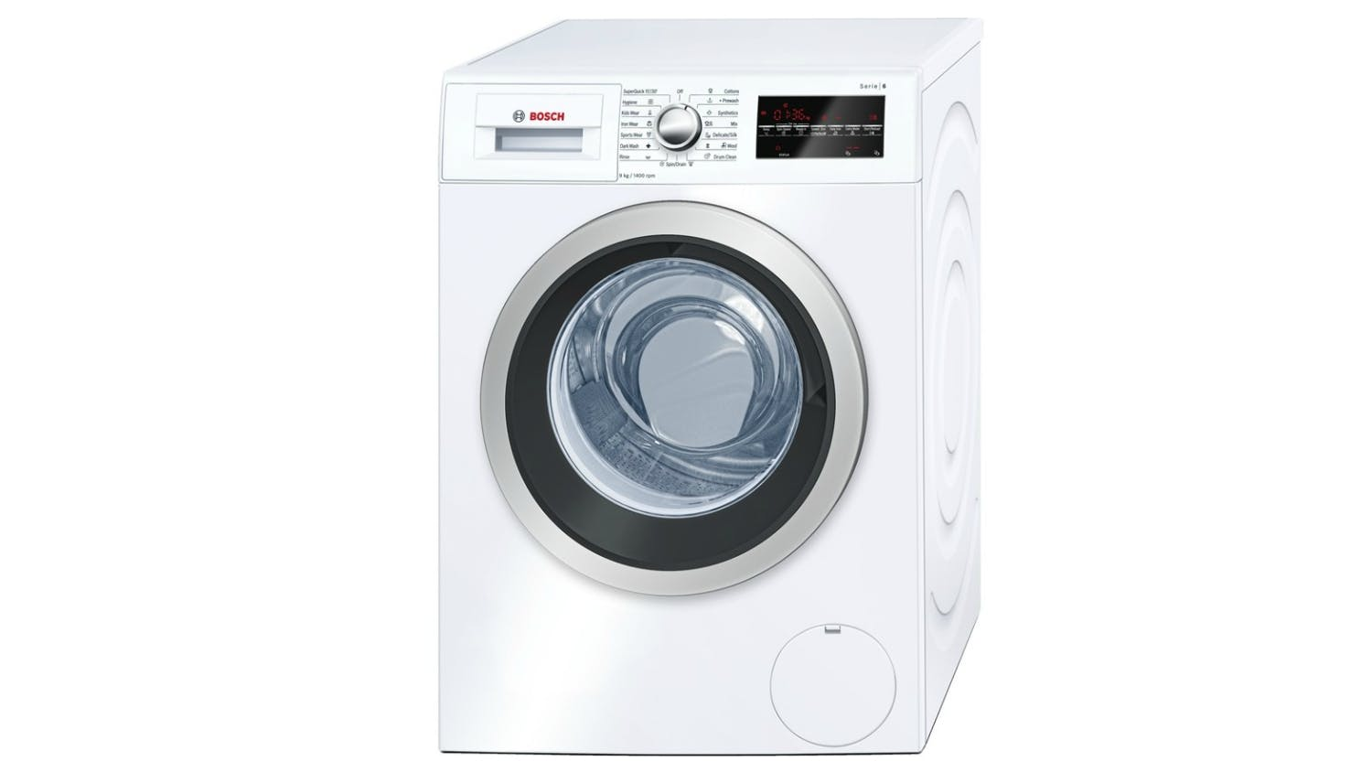 bosch serie 6 avantixx 9kg front loading washing machine harvey norman singapore. Black Bedroom Furniture Sets. Home Design Ideas