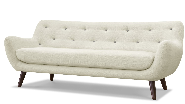 Cream 2 Seater Sofa Hereo