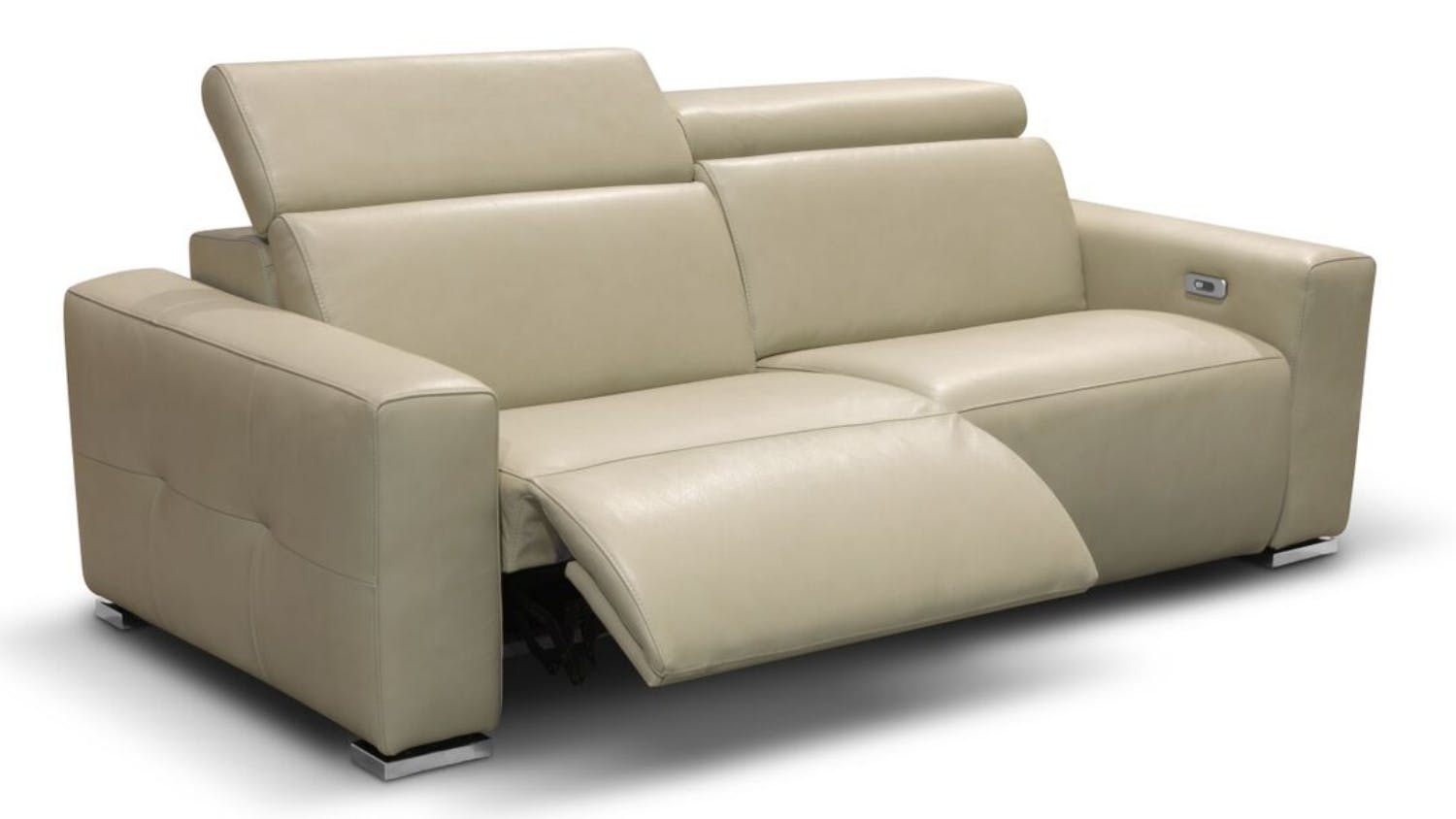 Saporini arena italian full leather 2 seater sofa harvey for Sofa chair malaysia