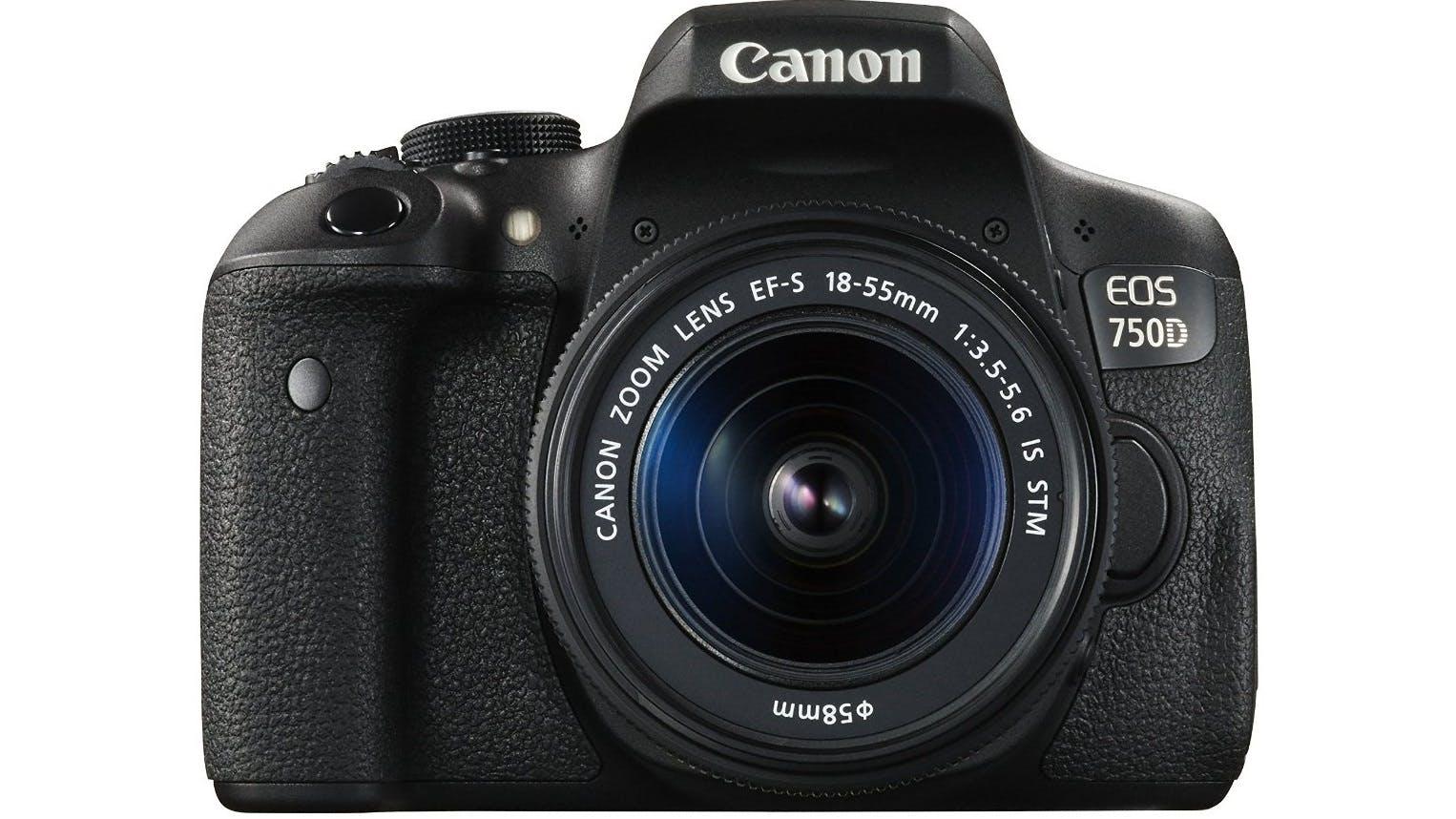 Camera Harvey Norman Dslr Cameras canon eos 750d kit dslr camera with ef s18 55mm is stm lens lens