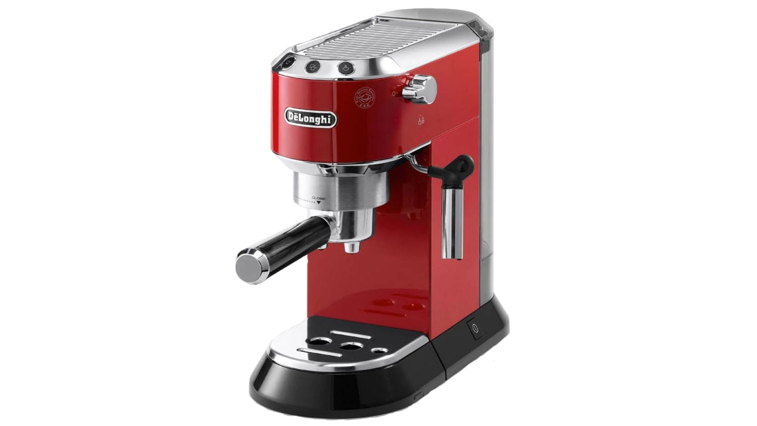 delonghi dedica coffee machine red harvey norman singapore. Black Bedroom Furniture Sets. Home Design Ideas